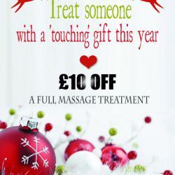 Christmas Massage Poster